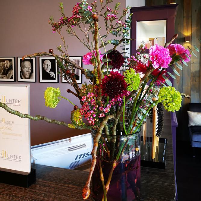 Das kleine Grüne - Blumenladen Hamburg - Blumenladen Eimsbüttel - Businessfloristik - Blumen für Büro - Blumenstrauß - Firmenfloristik - Büroblumen